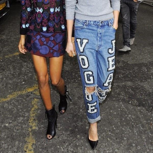 Embellished jeans 2